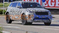 Range Rover Evoque: il frontale