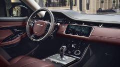 Range Rover Evoque, la plancia