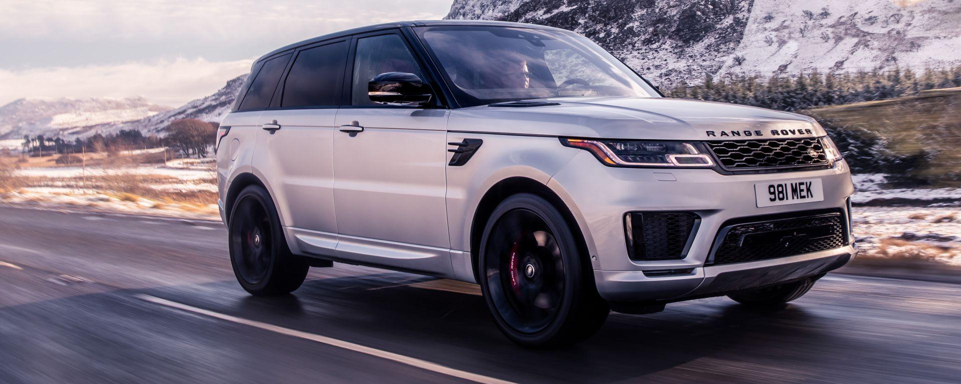 Range Rover Sport HST 2019: la prima mild hybrid