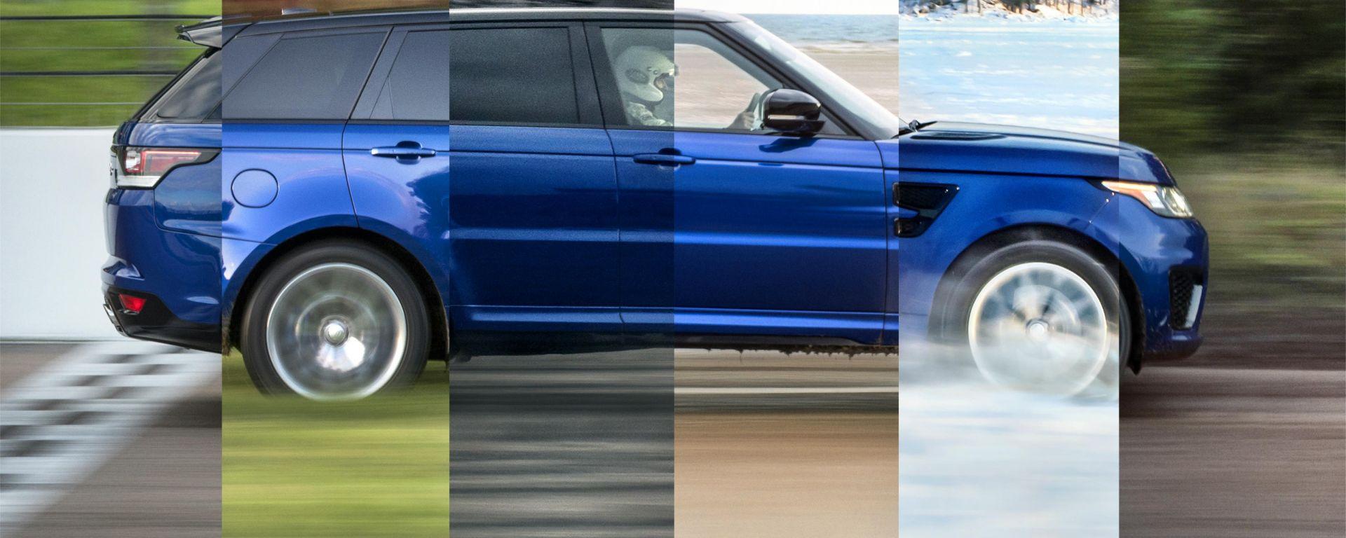 Range Rover Sport SVR: regina nello sprint su tutti i terreni