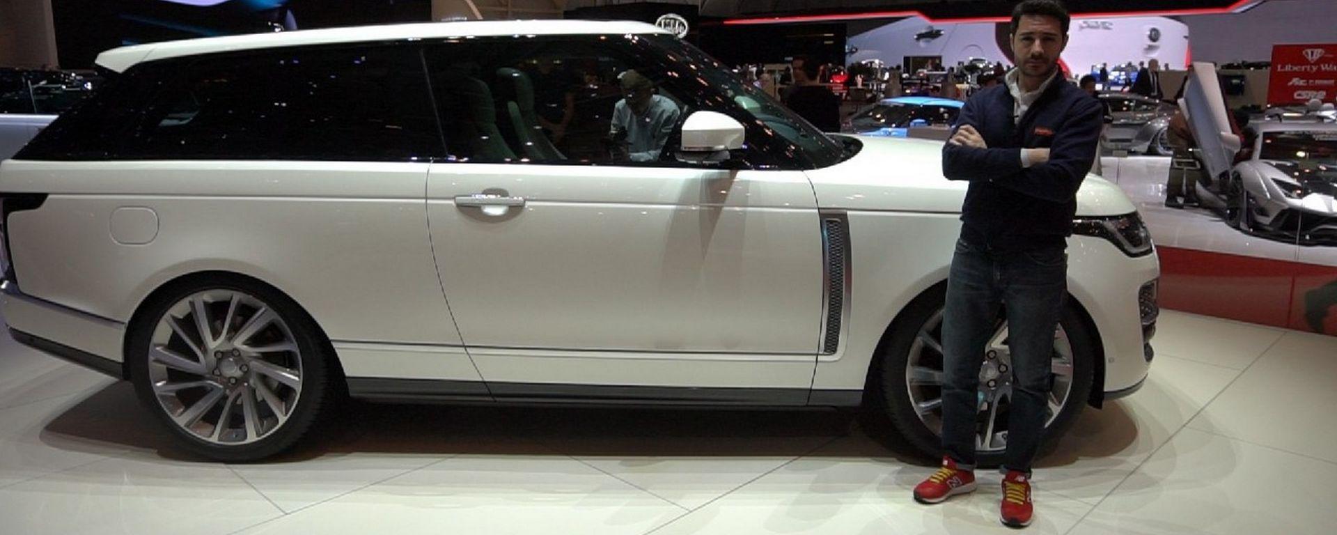 Range Rover SV Coupé a Ginevra 2018