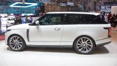 Range Rover SV coupé, live dal Salone di Ginevra 2018