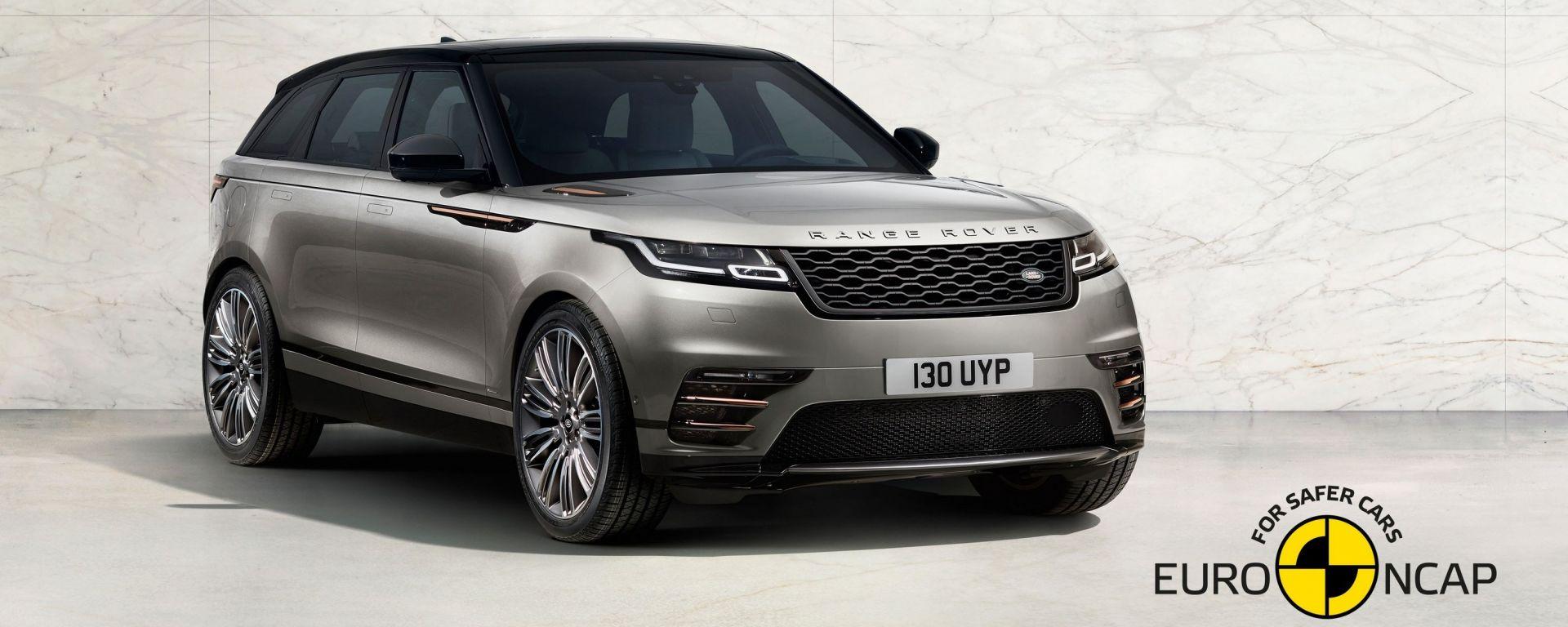 Range Rover Velar: eleganza e sicurezza a 5 stelle