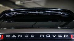 Range Rover Velar: dettaglio del lunotto