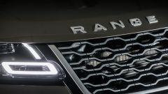Range Rover Velar: dettaglio della calandra