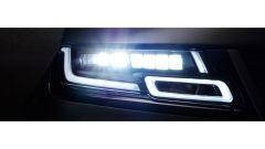 Range Rover Velar, i fari Matrix-Laser LED