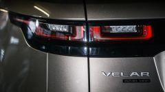 Range Rover Velar: i gruppi ottici posteriori