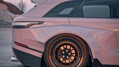 Range Rover Velar: il rendering. Cerchi sovradimensionati