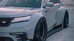 Range Rover Velar: il rendering dettaglio laterale