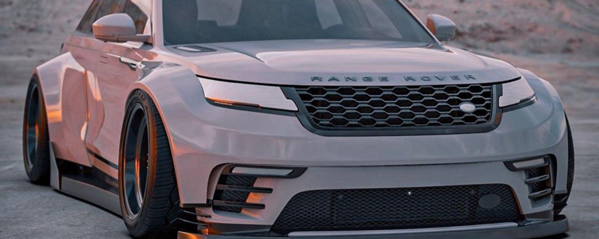 Range Rover Velar: il rendering di BradBuilds
