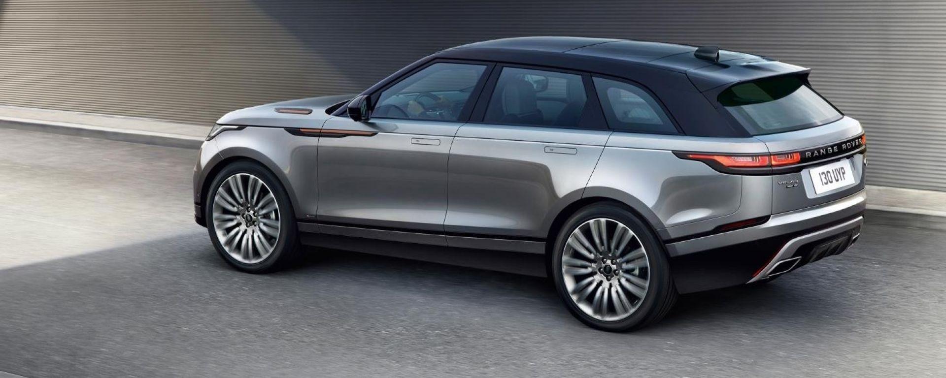 Range Rover Velar, la nuova suvcoupé inglese