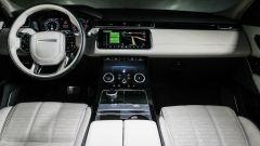 Range Rover Velar: la plancia