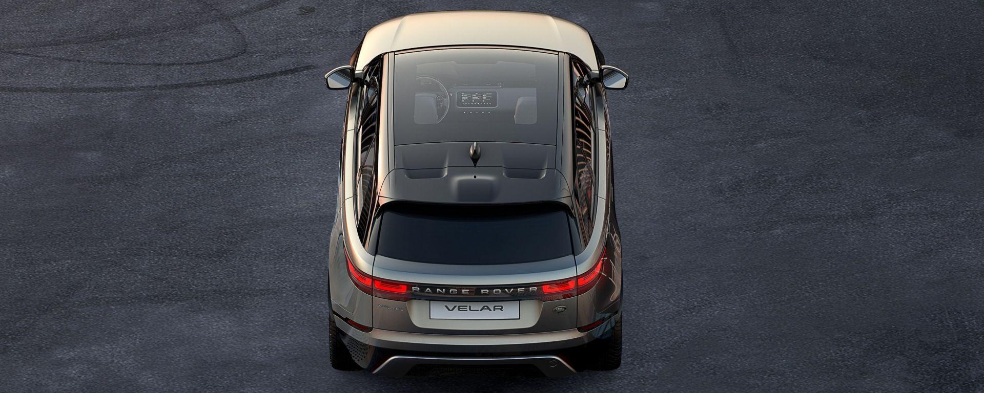 Range Rover Velar: la prima immagine teaser della nuova suv di Land Rover
