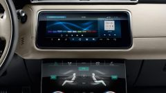 Range Rover Velar, l'infotainment Touch Pro Duo a due schermi