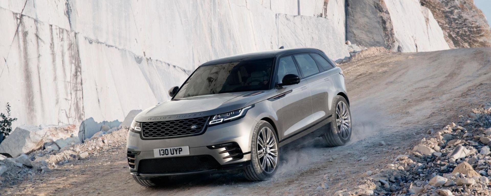 Range Rover Velar: il listino prezzi del nuovo suv inglese