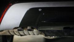 Range Rover Velar: lo scarico