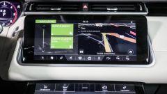 Range Rover Velar: lo schermo del sistema infotainment