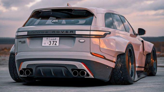 Range Rover Velar posteriore