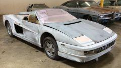 Ratarossa è una Ferrari Testarossa del 1987 resa spider
