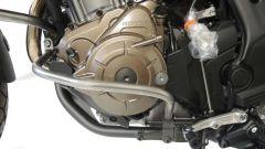 RDMOTO BY STYL Dettaglio del paramotore in alluminio