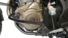 RDMOTO BY STYL Dettaglio del paramotore in nero opaco