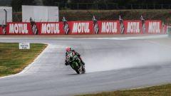 Rea (Kawasaki) in pista in Francia