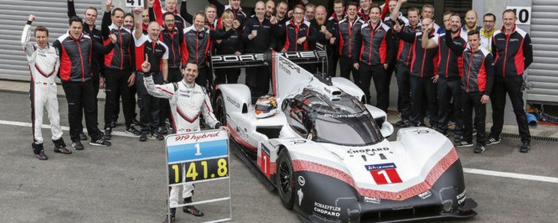 Record a Spa per la Porsche LMP1. Battuta la Mercedes di Hamilton