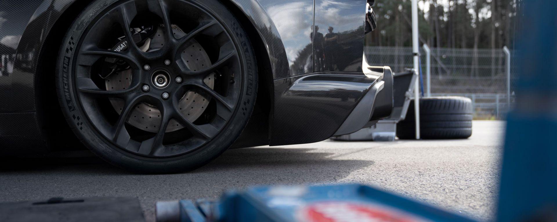 Gomme da record: i segreti dei pneumatici di Bugatti Chiron