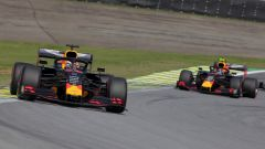 Red Bull 2019, Max Verstappen vs Alex Albon