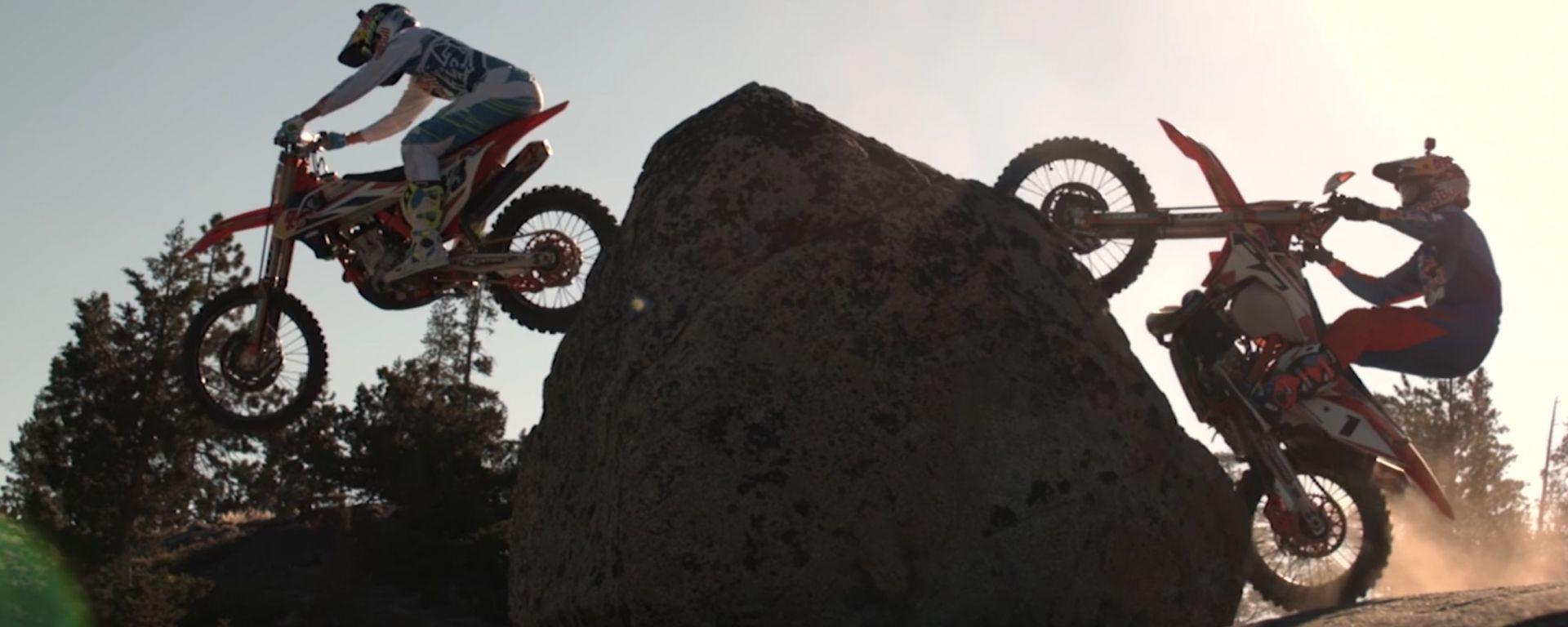 Enduro: un video in slow motion davvero spettacolare