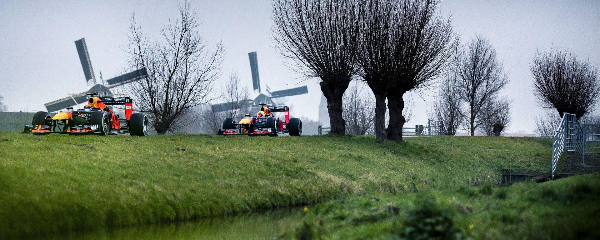 Red Bull, il viaggio olandese di Verstappen e Albon/1