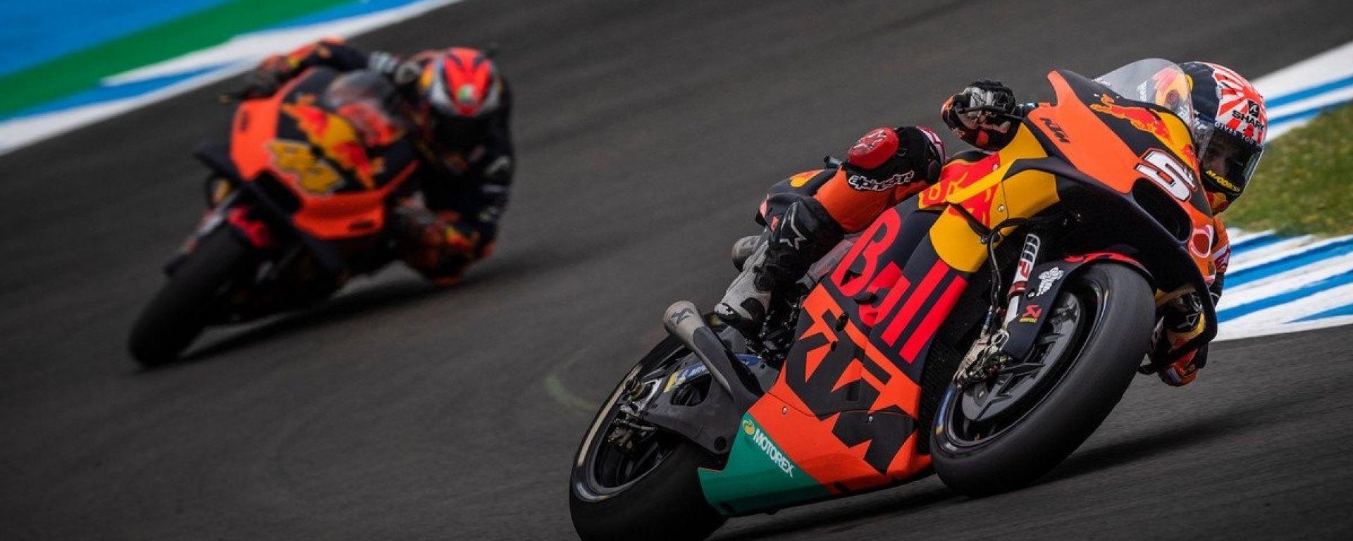 Red Bull KTM Factory Racing - Johann Zarco e Pol Espargaro