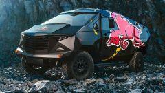 Red Bull Land Rover: ispirata a un F-22 - Immagine: 2