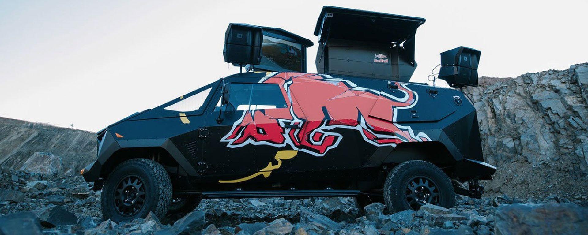Red Bull Land Rover: ispirata a un F-22