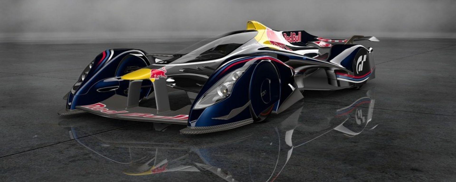 Red Bull Racing X2014: la concept da Formula 1 disegnata da Adrian Newey