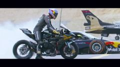 Red Bull Ultimate Drag Race: la partenza
