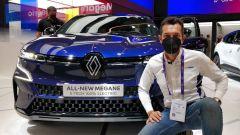 Renault Mégane E-Tech: a IAA 2021 svelata la BEV. Video