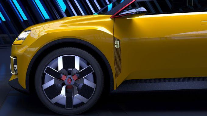 Renault 5: particolare dell'anteriore