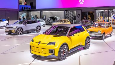 Renault 5 Prototype, Salone di Monaco 2021