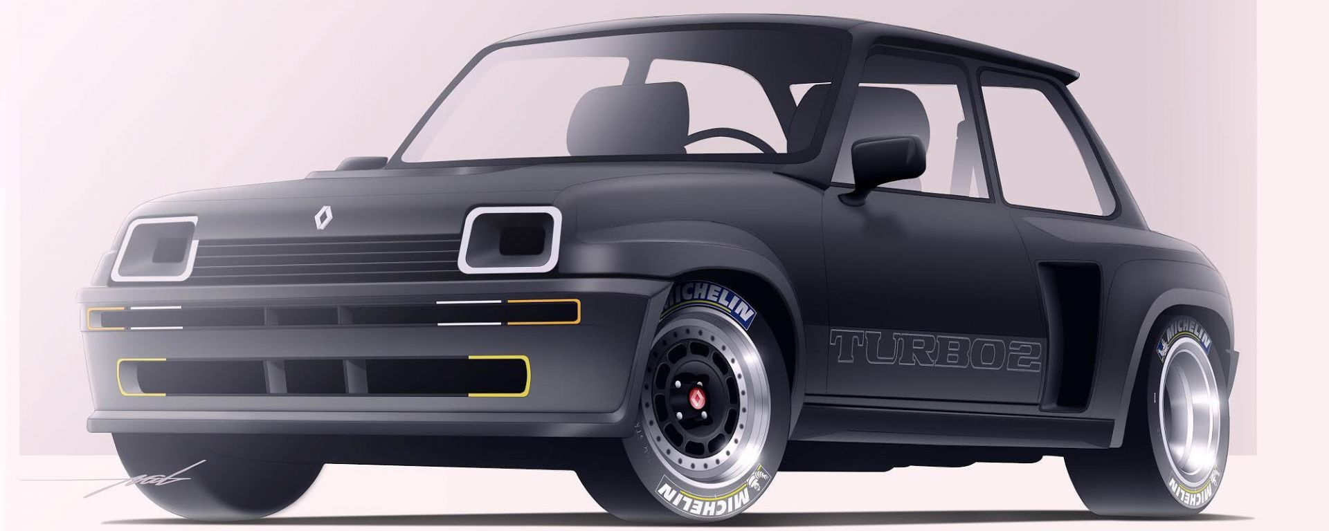 Renault 5 Turbo: il 3D artist immagina la riedizione