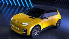 Renault 5: visuale di 3/4 anteriore