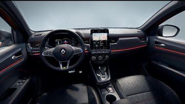 Renault Arkana: gli interni