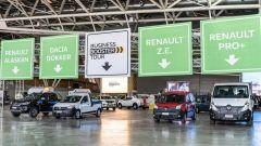 Renault Business Booster Tour 2018, 60 veicoli al seguito