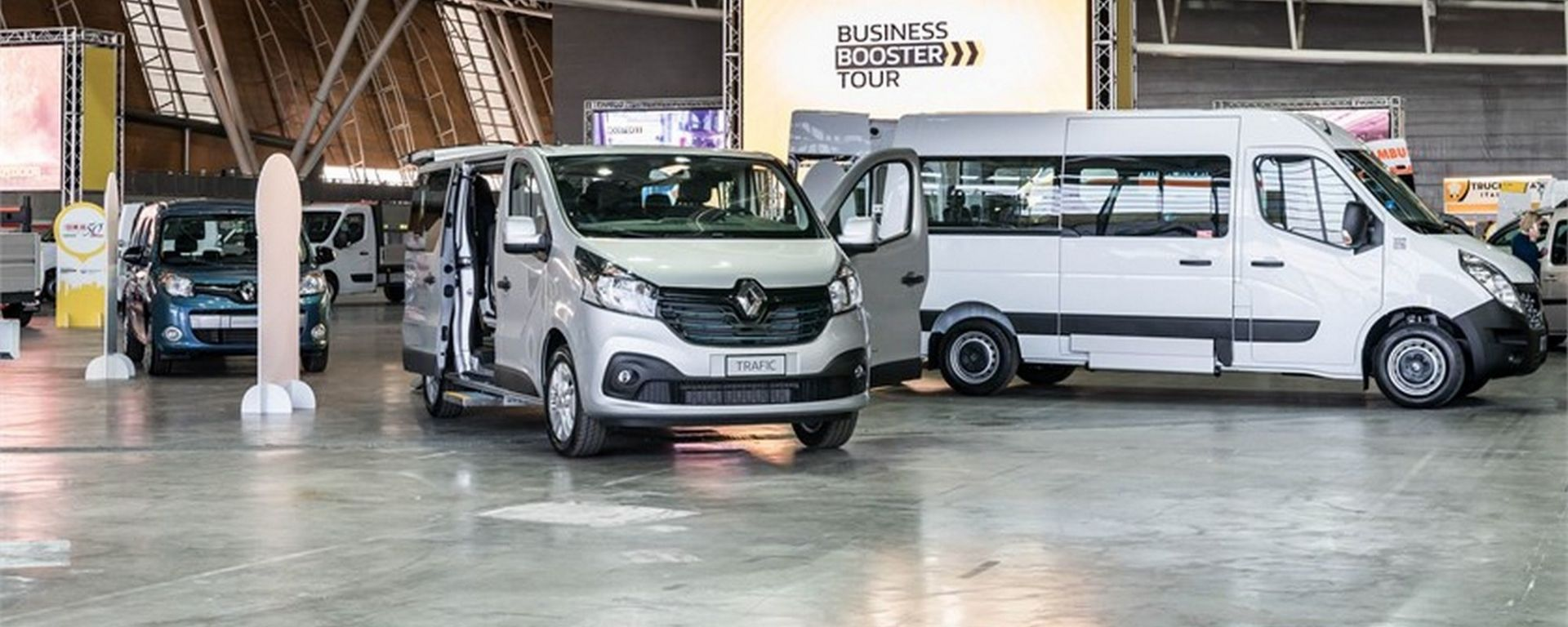 Renault Business Booster Tour, al via l'edizione 2018