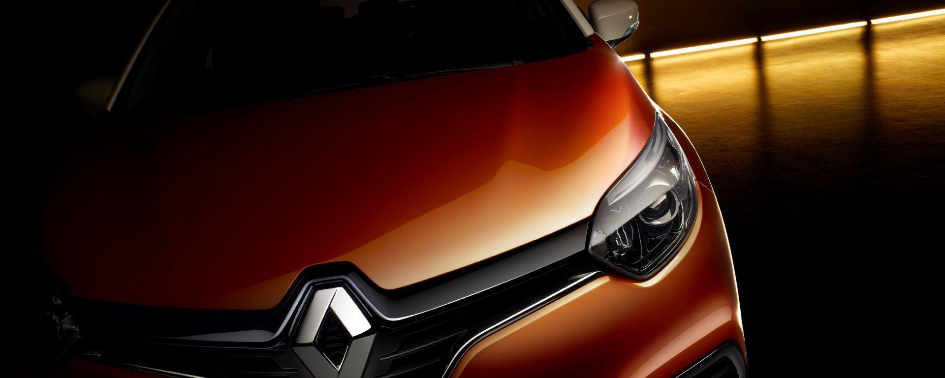 Renault Captur: il primo teaser