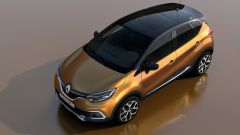Renault Captur 2017, tra gli optional c'è il tetto in vetro