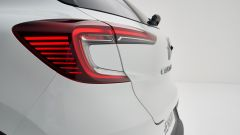 Renault Captur 2019 bianca luci a LED posteriore