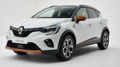 Renault Captur 2019 bianca vista 3/4