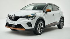 Renault Captur 2019 bianca