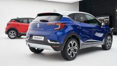 Renault Captur 2019 blu vista posteriore